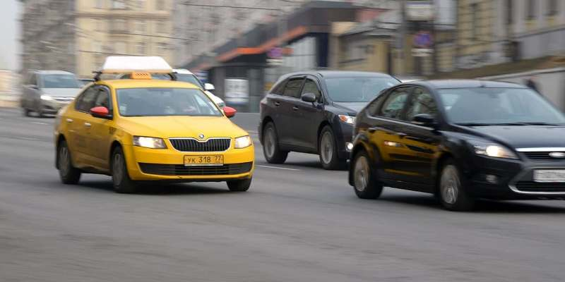 Москва стала городом с наиболее динамично развивающейся службой такси. Фото: mos.ru